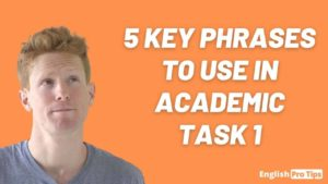 Advanced IELTS Vocabulary for Task 1 Writing