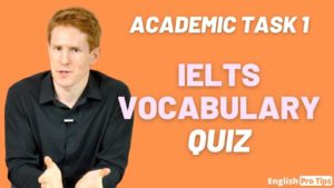 Vocabulary for IELTS Academic Task 1