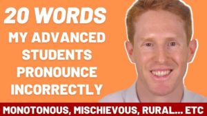 Difficult words to Pronounce in IELTS Speaking
