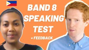 IELTS Speaking Test with Filipino Band 8
